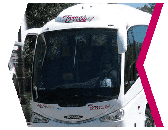 Hire of coaches in Madrid with driver