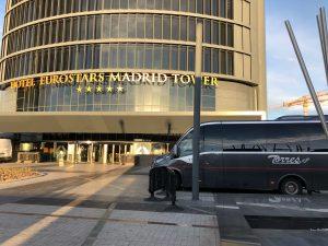 Alquilar minibus para viaje por España