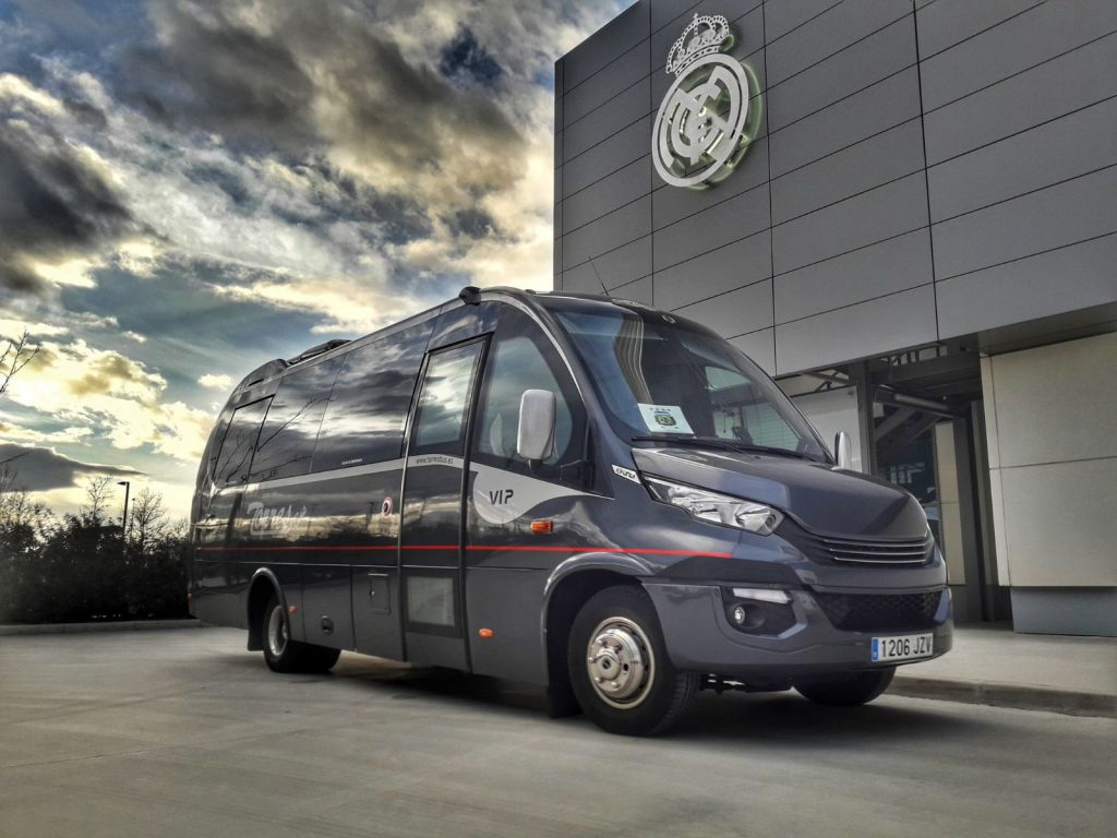Minibus VIP RealMadrid