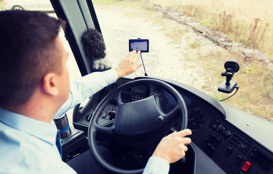 Rutas por España en autobús