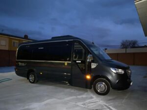 VIP minibus for weddings