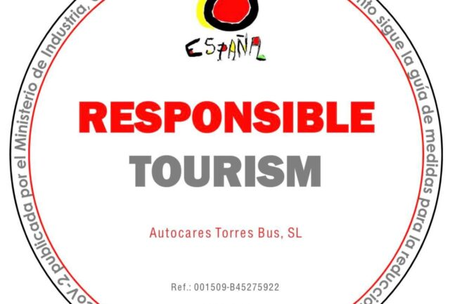 Responsible Tourism Certificate bei Torres Bus