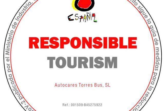 Certificado Turismo responsable en Torres Bus